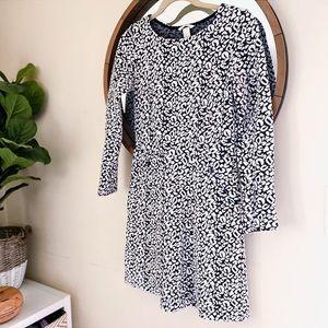 🌸SALE🌸 H&M Leopard Long Sleeve Dress (76)